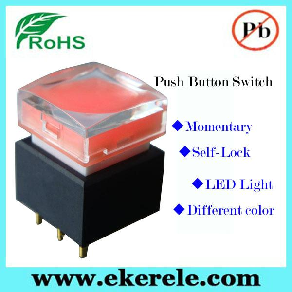 Full Color LED Illuminated Available 25mm LED Push Button Switch 2