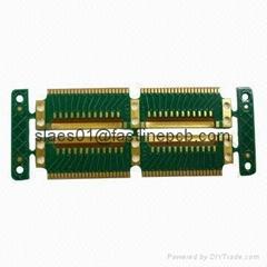 6 layer Flex-Rigid PCB with FR-4+PI circuit board