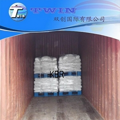 Photographic grade Crystal Potassium Bromide as medicine preparation KBR