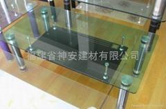 廠家供應特種玻璃 特種鋼化玻璃 各種特種玻璃,定做茶几玻璃