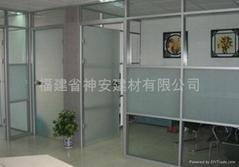 【福建玻璃廠】 供應8mm 10mm 12mm 傢具門窗優質鋼化玻璃 鋼化門玻璃