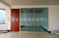 【福建玻璃厂】 供应各种规格 钢化玻璃无框门