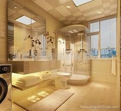 【福建玻璃廠】定做浴室 房間 門窗鋼化玻璃 裝修玻璃