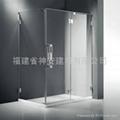 【福建玻璃厂】定做浴室,卫生间钢化玻璃
