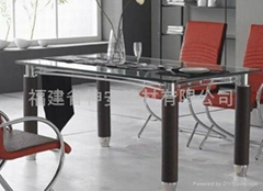 【福建玻璃廠】供應高品質餐桌面鋼化玻璃 餐廳桌面鋼化玻璃