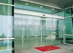【福建玻璃厂】供应各种 房产建筑工程钢化玻璃