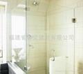 【福建玻璃厂】供应各种 浴室,卫生间,房间钢化玻璃