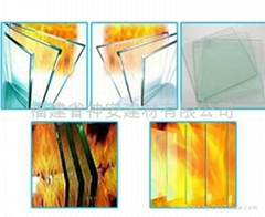 【福建玻璃廠】供應建築用防火玻璃  防火材料幕牆玻璃