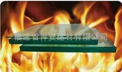 【福建玻璃厂】专用防火玻璃隔断  防火门视窗