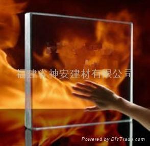 【福建玻璃厂】防火玻璃窗 工业建筑用防火玻璃