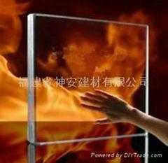 【福建玻璃廠】防火玻璃窗 工業建築用防火玻璃