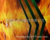 【福建玻璃厂】供应防火玻璃,12mm单片防火玻璃