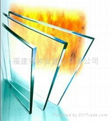 【福建玻璃廠】供應防火玻璃,8mm單片防火玻璃