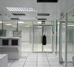 【福建玻璃厂】供应办公室防火玻璃门窗、防火玻璃隔墙 1