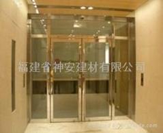 【福建玻璃厂】供应办公室防火玻璃门系列
