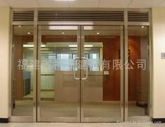 【福建神安玻璃厂】供应酒店防火玻璃门