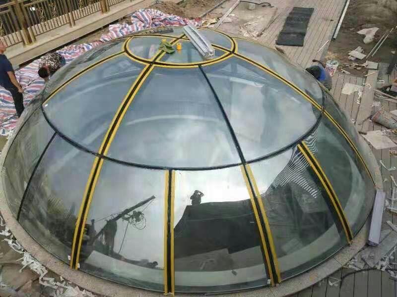 球形曲面玻璃