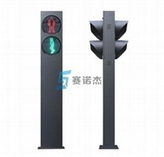 3m一體式雙面人行橫道信號燈