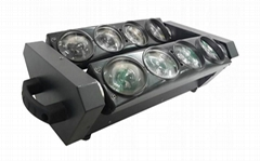 8颗10W白光LED蜘蛛光束特效灯