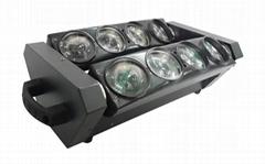 8顆10W白光LED蜘蛛光束特效燈