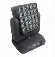 led panel night club light,25*12W 4in1 LED Beam Matrix Moving Head