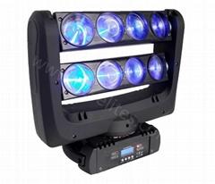 8顆10W 全彩LED蜘蛛搖頭燈