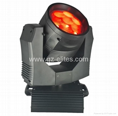7*20W RGBW LED wash zoom moving head light