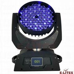 108*3W LED RGBW 染色摇头灯
