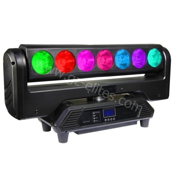 7*20W LED點控光束搖頭燈 1