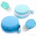 Macaron silicone coin purse