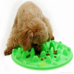 趣味宠物碗硅胶慢食碗