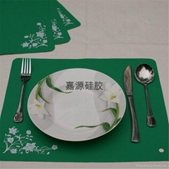 silicone table mat placemats