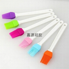 plastic handle BBQ silicone oil brush