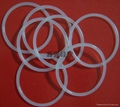 clear silicone rubber o seal ring