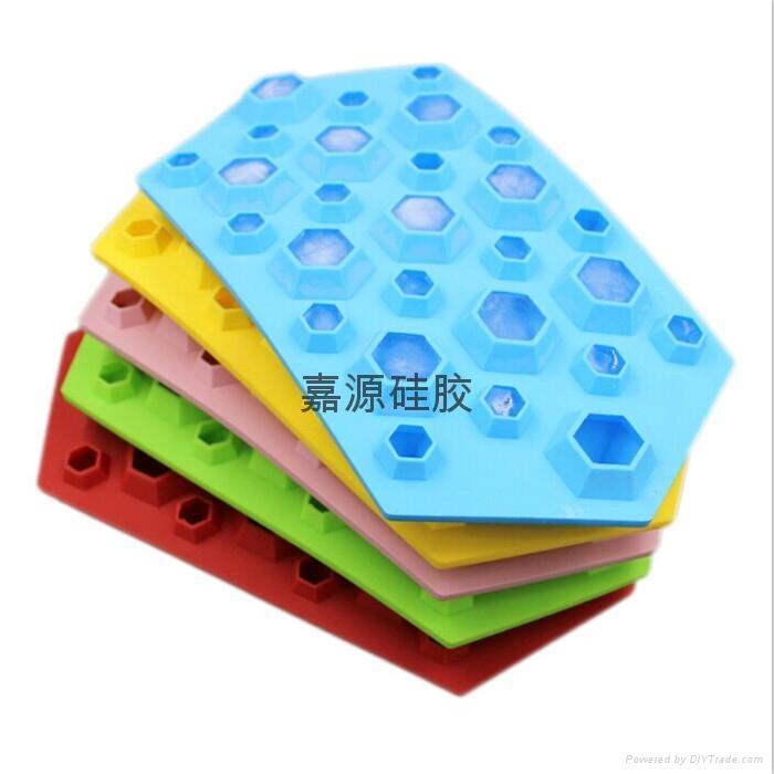 軟硅膠冰格硅膠冰塊模具製冰盤 2
