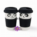 FDA standard silicone coffee cup lid cup sleeve