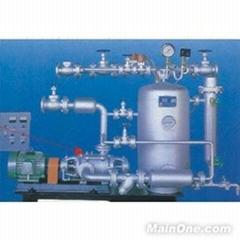 蒸汽冷凝水回收设备也称蒸汽冷凝水回收机是锅炉节能的重要部分