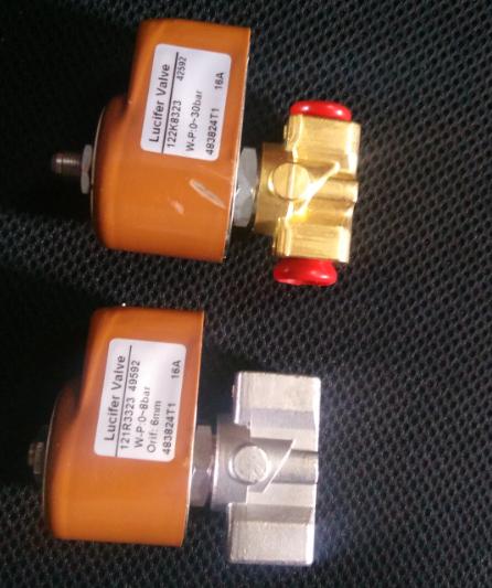 台湾吾丰燃烧器配油泵,风门电机,电磁阀 3