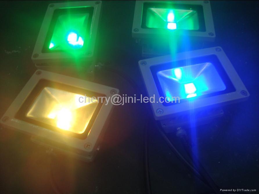 JN 10W Waterproof RGB Led Floodlight Landscape Lamp 2