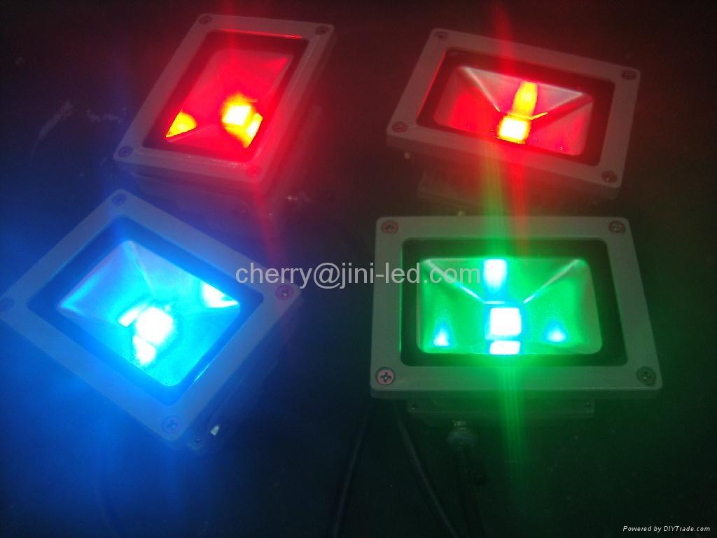 JN 10W Waterproof RGB Led Floodlight Landscape Lamp 3