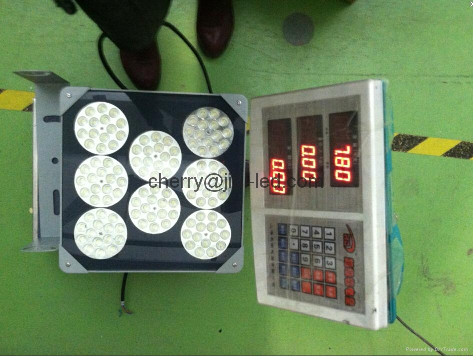 基尼照明 LED IP65防水加油站燈120W 明緯電源 普瑞光源 3年質保 4