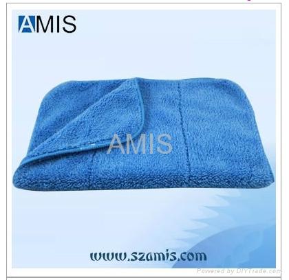 Microfiber Polar fleece car cleaning cloth towel polishing cloth 1