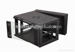 6U wall mounted rack best sales
