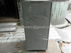 "19"" rack cabinet for fiber optic patch panels"