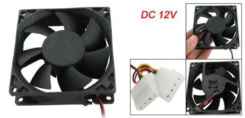 80mm 12V 4Pin Case Cooling Fan for PC Case CPU Cooler Fan 1