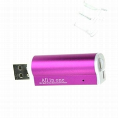 4 in 1 High Speed USB Memory Card Reader Supports Micro SD,TF,MS card