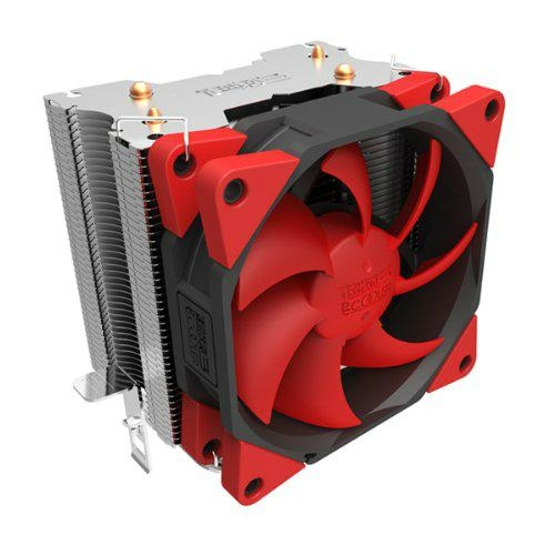 Super Silent Shock-absorbing CPU Cooler with Detachable Fan for Intel AMD 1