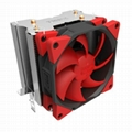Super Silent Shock-absorbing CPU Cooler