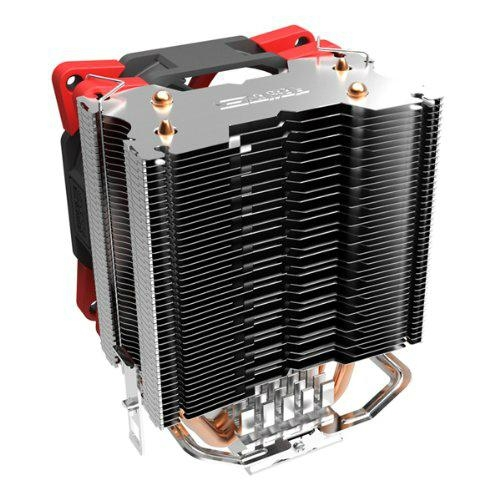Super Silent Shock-absorbing CPU Cooler with Detachable Fan for Intel AMD 3
