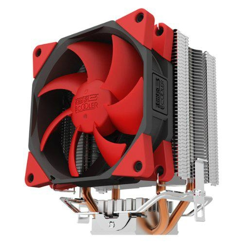 Super Silent Shock-absorbing CPU Cooler with Detachable Fan for Intel AMD 5